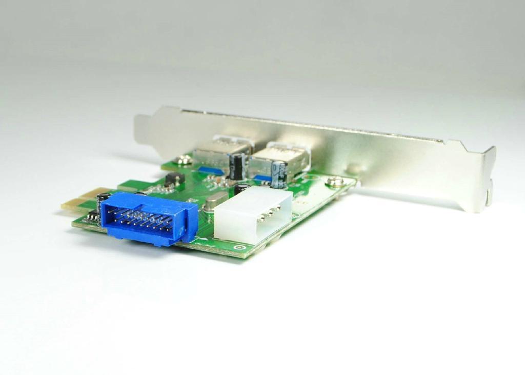 USB3.0 PCI-E轉接卡  GP3017A  1