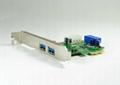 USB3.0 PCI-E轉接卡  GP3017A  4