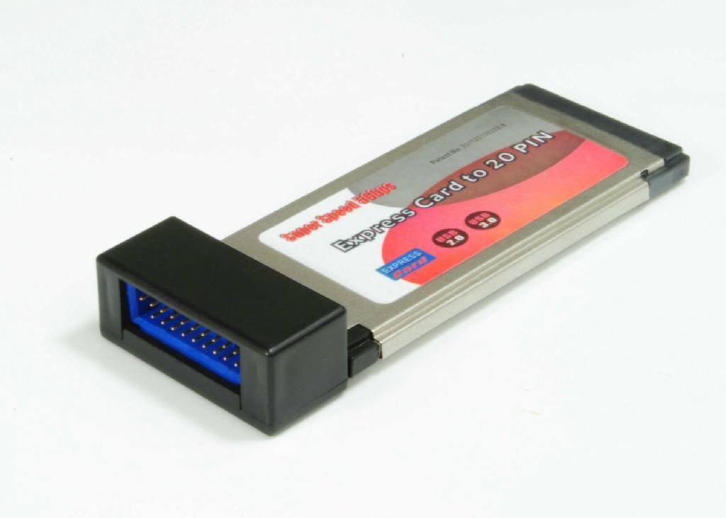 USB3.0 PCI-E 轉  HUB  GP3021A  3
