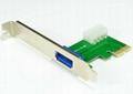 USB3.0 PCI-E 轉  HUB  GP3021A  4