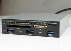 USB3.0 PCI-E 轉  HUB  GP3030A