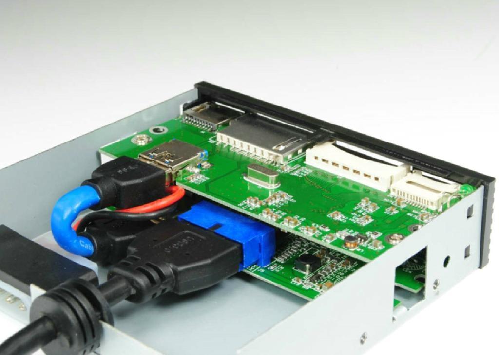 USB3.0 PCI-E 转  HUB  GP3030A  2