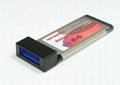 USB3.0 PCI-E 轉 USB3.0 Hub (可用筆記本和臺式機)  GP3022A 3
