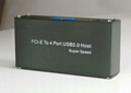 USB3.0 PCI-E 轉 USB3.0 HUB (可用筆記本和臺式機)  GP3060A  3