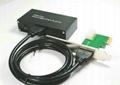 USB3.0 PCI-E 转 USB3.0 HUB (可用笔记本和台式机)  GP3060A  4
