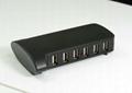 USB2.0 10 口 HUB GU2026A  1