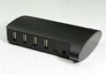 USB2.0 10 口 HUB GU2026A  2