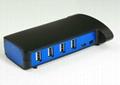 USB2.0 10 口 HUB GU2026A  3