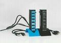 USB2.0 10 口 HUB GU2026A  5