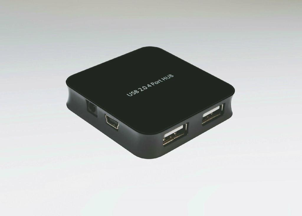 USB 2.0 Four Ports Hub  GC003A 1