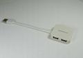 USB 2.0 四口集線器  GC003B  2