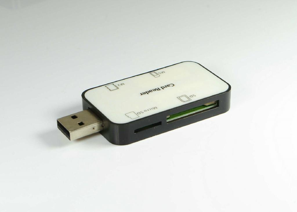 USB2.0多功能读卡器  GC008A  2