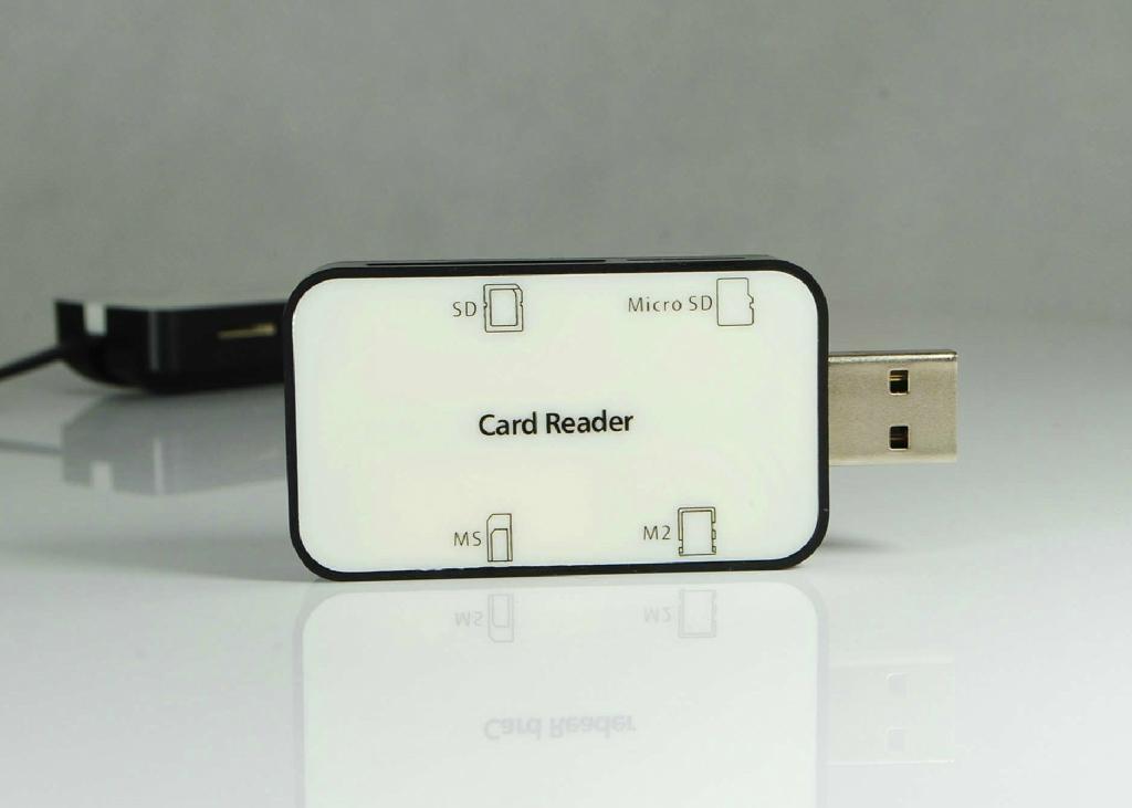USB2.0多功能读卡器  GC008A  4