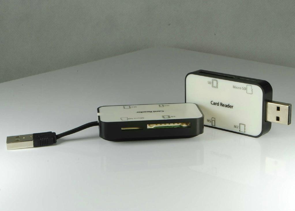 USB 2.0 Multi Cards Reader    GC008B  1