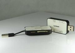 USB2.0多功能读卡器  GC008B