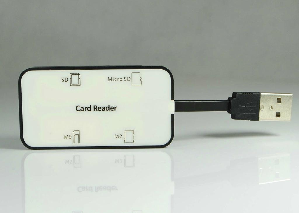 USB 2.0 Multi Cards Reader    GC008B  2