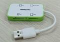 USB 2.0 Multi Cards Reader    GC008C