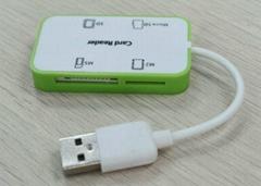 USB2.0多功能讀卡器  GC008C