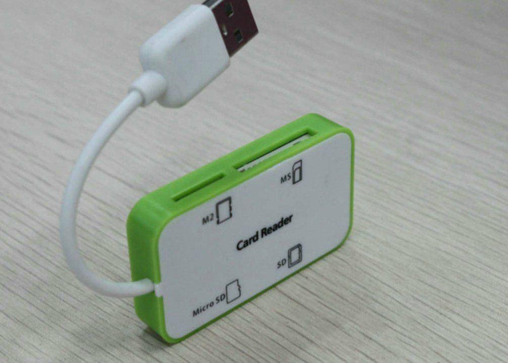 USB2.0多功能讀卡器  GC008C  2