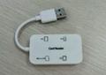 USB2.0多功能讀卡器  GC008C  3
