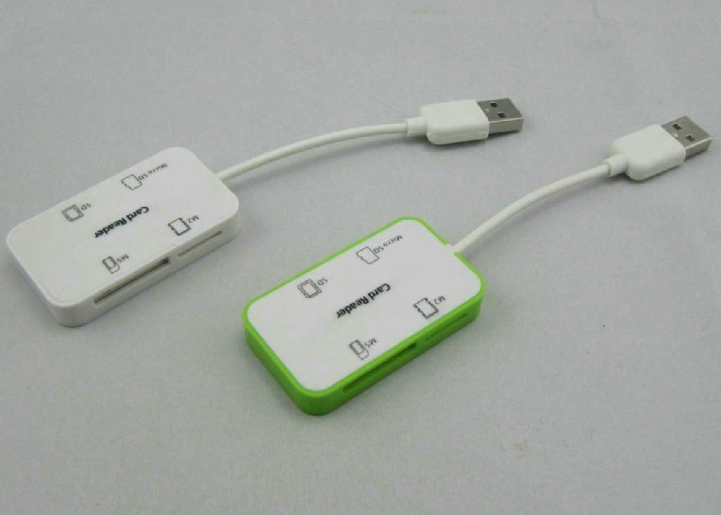 USB 2.0 Multi Cards Reader    GC008C  5