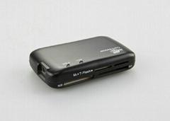 USB2.0外置Combo(USB Hub+多功能读卡器)  GC001