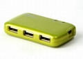 USB2.0外置Combo(USB Hub+多功能讀卡器)  GC001  4