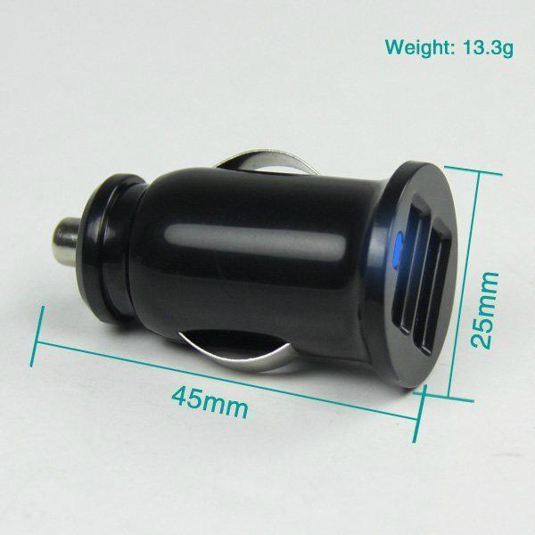 双USB车载充电器3.1A  GC8301 5