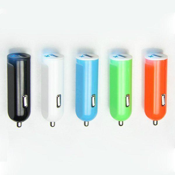 单USB车载充电器2.1A  GC8302 1