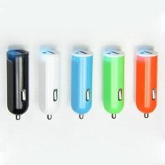 單USB車載充電器2.1A  GC8302