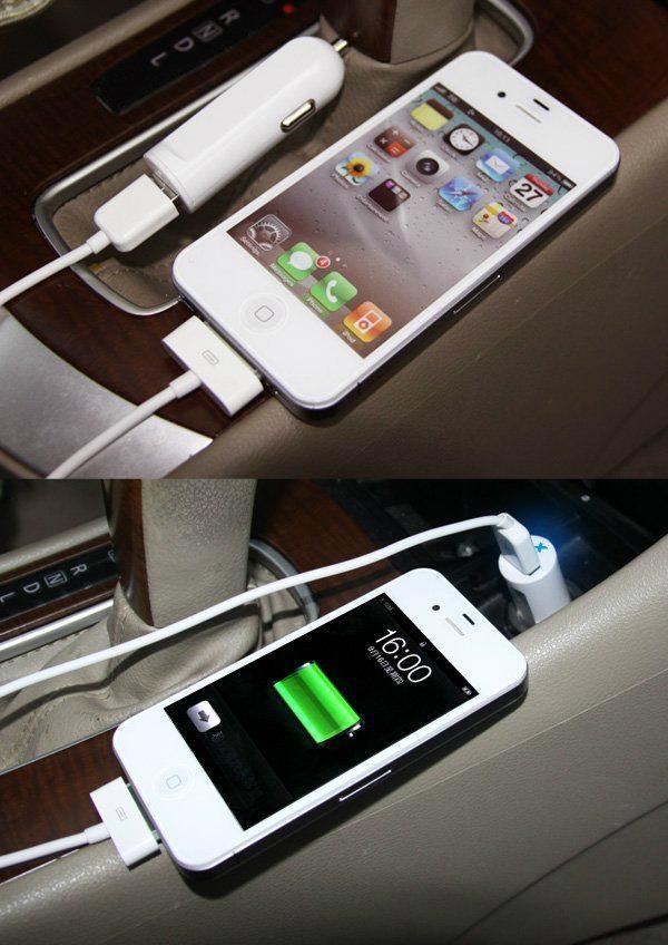 单USB车载充电器2.1A  GC8302 4