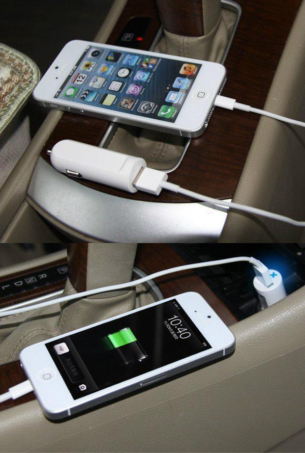 单USB车载充电器2.1A  GC8302 5
