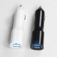 双USB车载充电器4.2A  GC8304