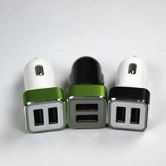 雙USB車載充電器4.2A  GC8306