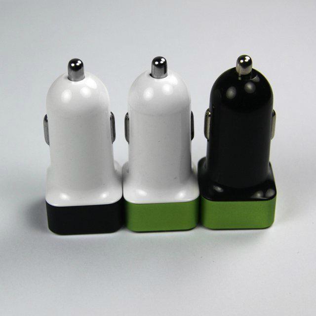 双USB车载充电器4.2A  GC8306 2
