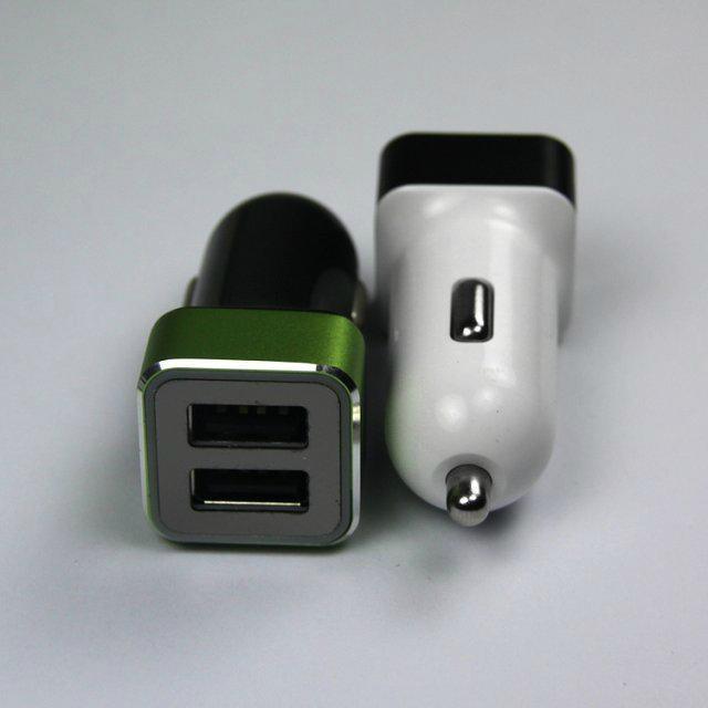 双USB车载充电器4.2A  GC8306 3