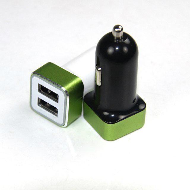 双USB车载充电器4.2A  GC8306 4