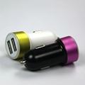 双USB车载充电器2.4A  GC8307 3