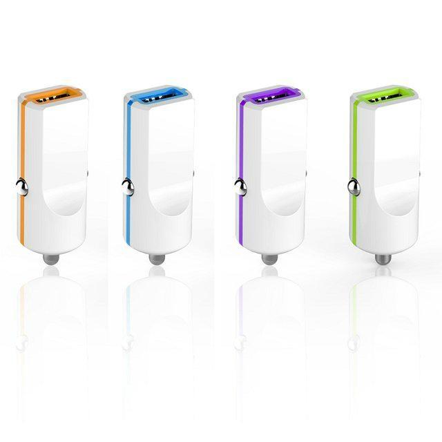 单USB车载充电器1.0A  GC8305 2