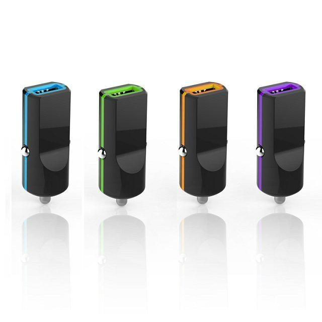 单USB车载充电器1.0A  GC8305 3