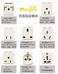 稳不落wonpro工业机柜流水线设备 老化测试插座模块