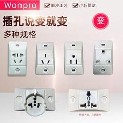 稳不落Wonpro医用设备工业机柜流水线老化房埋入式插座