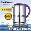 SS304 food grade big spout home appliance electric water kettle 2