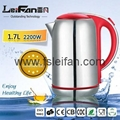 SS304 food grade big spout home appliance electric water kettle 4
