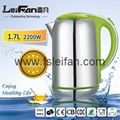 SS304 food grade big spout home appliance electric water kettle 5