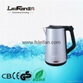 hot selling 2.0l CB CE GS UL certificate 220v stainless steel electric kettle 1