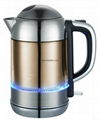cool touch double wall water kettle with LED light 2