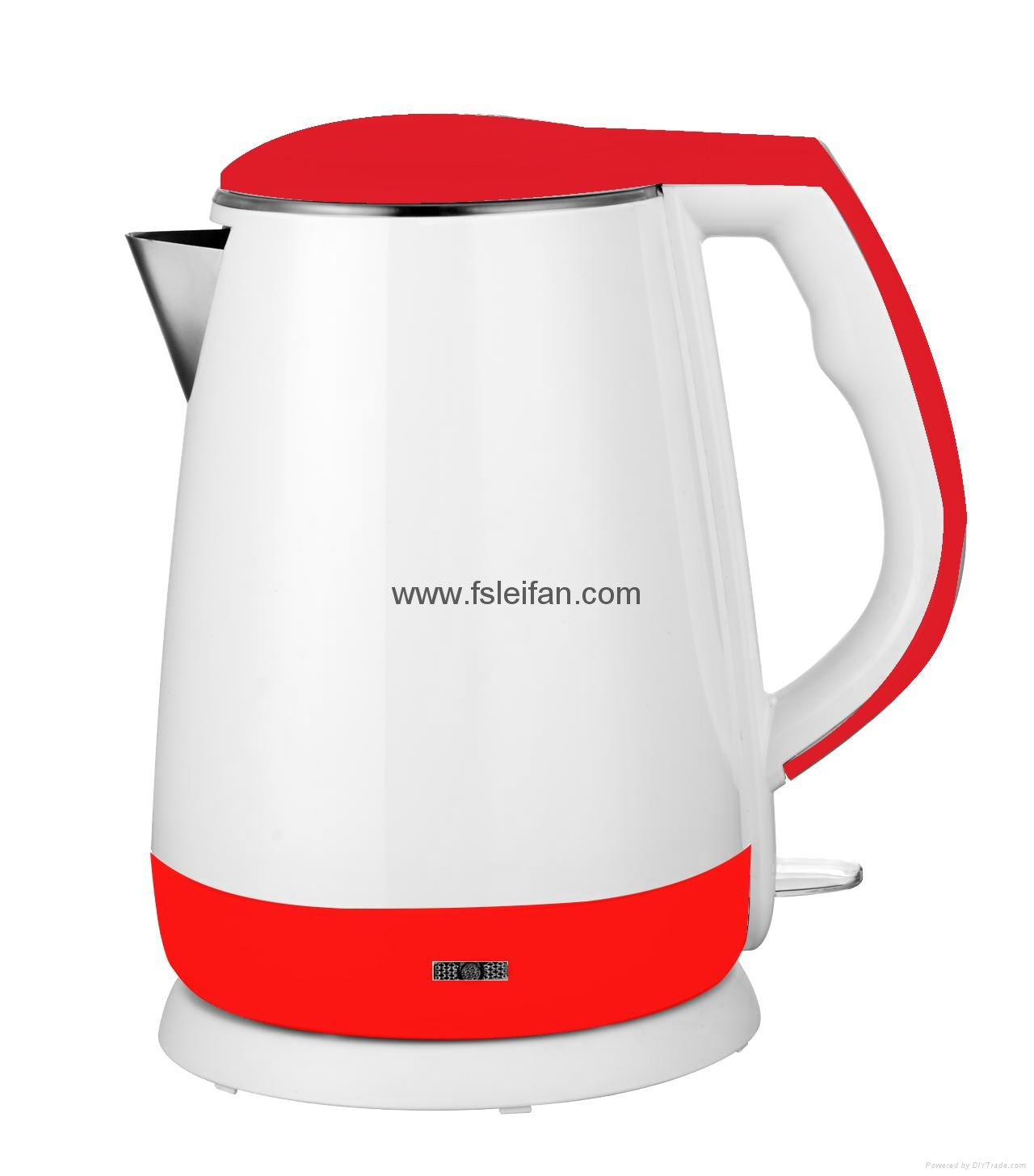1.5L cordless double wall electric kettle 3
