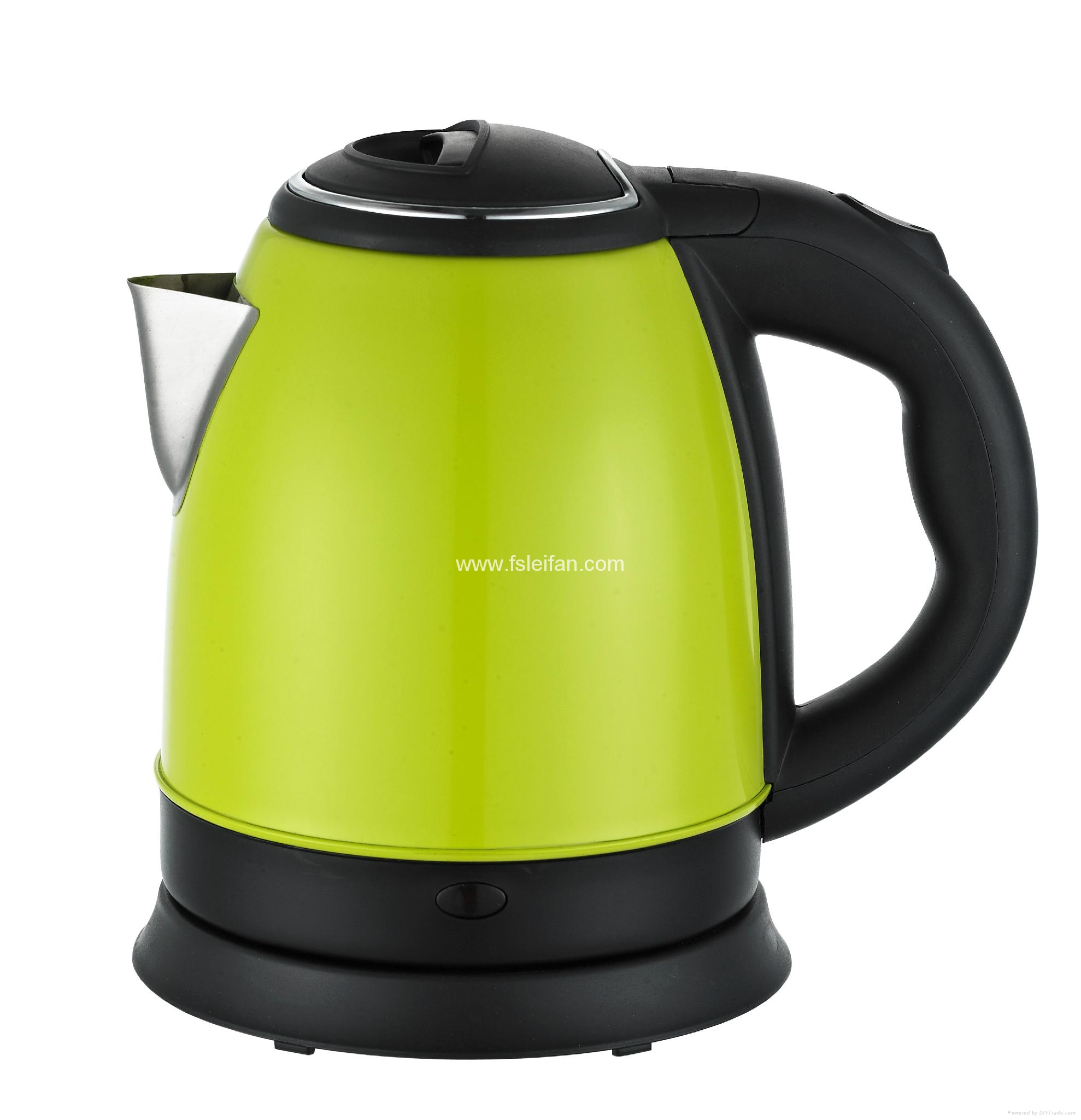 Electric kettle home appliance stainless steel tea kettle 5