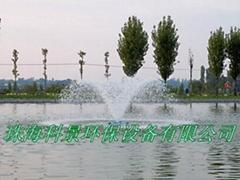 湖泊水處理增氧噴泉曝氣機